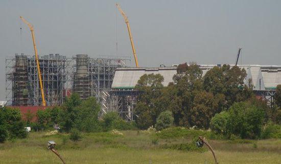 Costruzione Centrale a Ciclo Combinato 800 MW- Aprilia - Latina <BR/>(2009-2011)