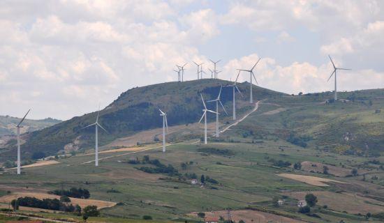 Costruzione Campo Eolico Castelnuovo di Conza  <BR/>(2006-2008)
