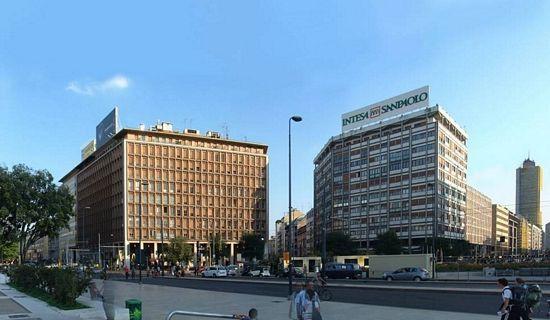 Riqualifica immobile Piazza Duca Aosta - Milano <BR/>(2013)