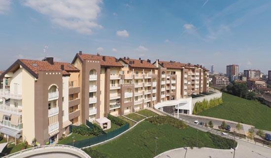 """Costruzione Complesso  Residenze """" Il Rondò"""" - Moncalieri <BR/>(2012)"""